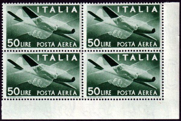 1945/46 Posta Aerea Democratica