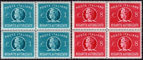 1947 Recapito Autorizzato - nuovi MNH
