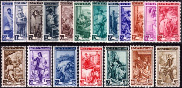 1950 Italia al lavoro