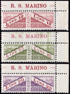 1928 Pacchi Postali - nuovi (MNH)