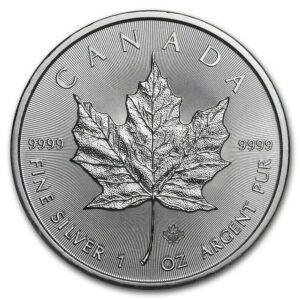 Canada2021 acero argento oncia