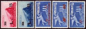 1947/48 Espressi (MNH) - nn.16/20