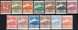 1921/23 Cifra o Veduta (MNH) - nn.69/81