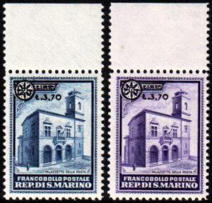 1934 Soprastampati - MNH - nn.184/185 Diena