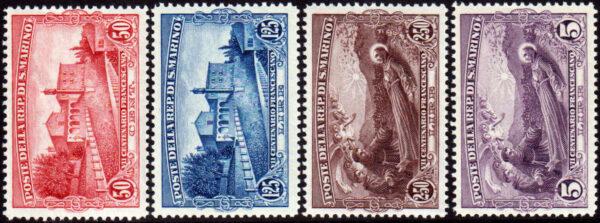 1928 San Francesco MNH - nn.137/140 Bolaffi