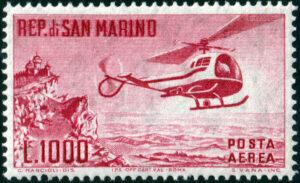 1961 elicottero MNH n.138