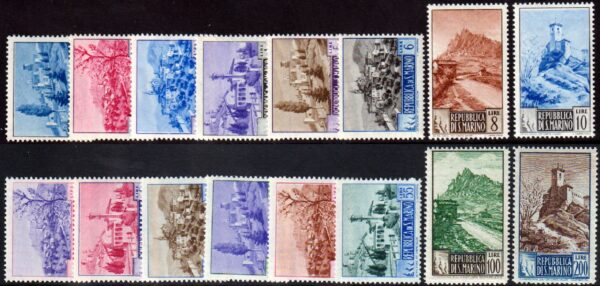 1949 Paesaggi MNH S.66 - Raybaudi