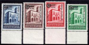 1934 - San Marino - Fiera Milano - Bolaffi