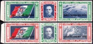 1933 Egeo Trittici Balbo MNH nn.28/29