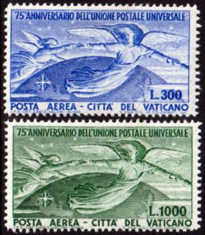 1949 UPU - nuovi MNH Sassone nn.18/19