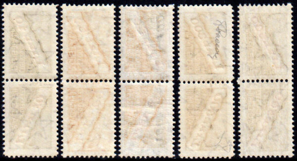 1956/61 Pacchi Postali Stelle - nuovi MNH