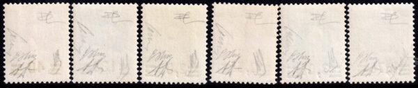 1934 Provvisoria MNH -nn.35/40 Carraro