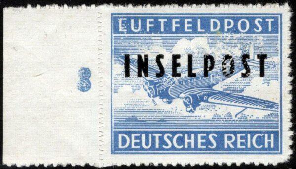 1944 - INSELPOST - Sassone n.2 - MNH