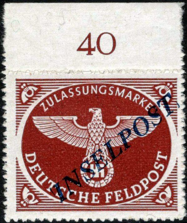 1944 INSELPOST nuovo MNH - n.5